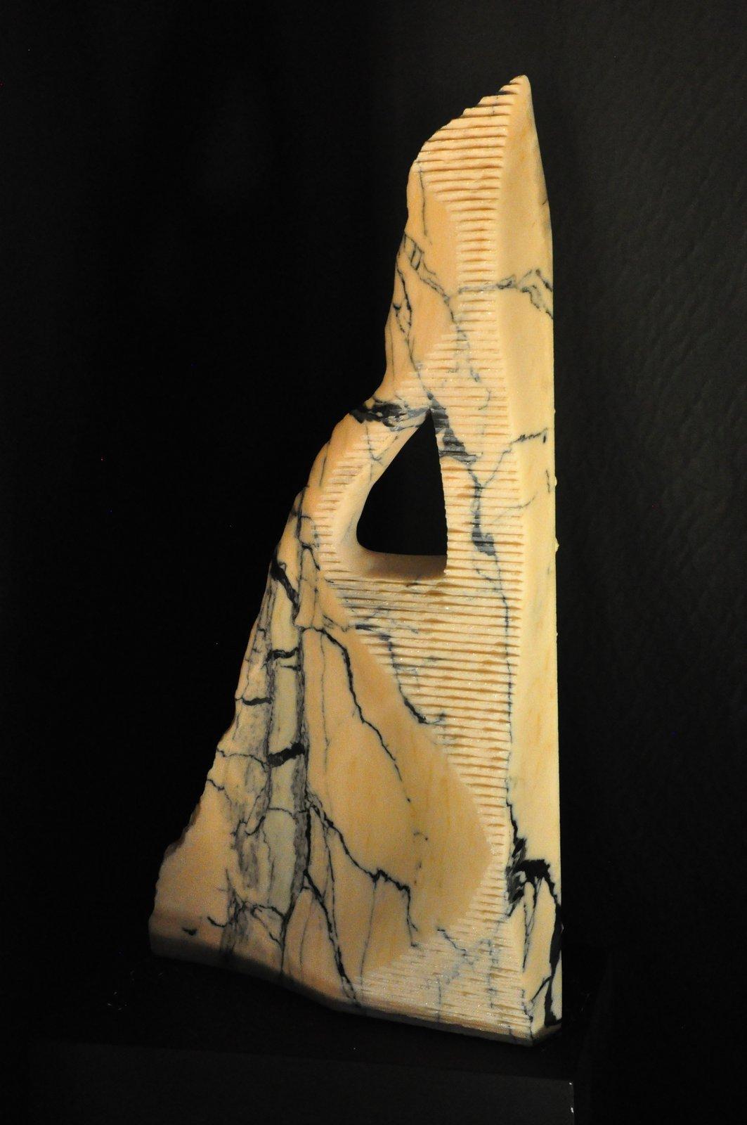 Schnittstein Rosario - portugiesischer Marmor -   82 x 44 x 10 cm